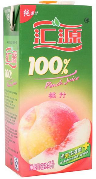 汇源纯果汁